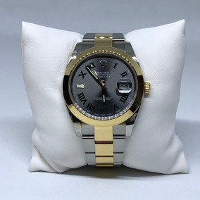 Rolex Datejust 2 126303 18k Amarillo Acero Cara Gris Nuevo