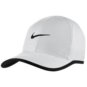 Gorra Nike Featherlight Cap 679421-100 Blanco Dama Oi 83107650cf2