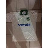 480c5acefc Rara Camisa Palmeiras Parmalat Rhumell 10 Autografada Alex - Camisa ...