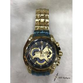 2cf96881d78 Casio Edifice Cor Ouro - Relógio Casio Masculino no Mercado Livre Brasil