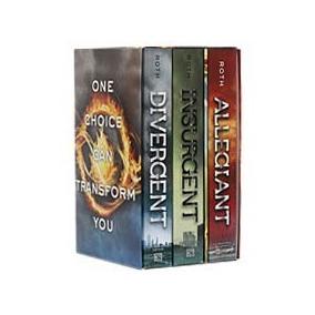 Livro - Divergent Box Set (série Divergente)