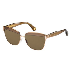 Óculos Marc Jacobs Mmj 004 s Brown Tortoise Sunglasses - Óculos no ... 37d02eb534
