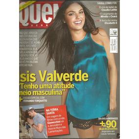 Revista Quem 613/12 - Isis/elaine Giardini/xuxa/justin Biebe
