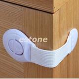 Seguro Bloqueador Blanco Cajón Puertas Protección Bebes
