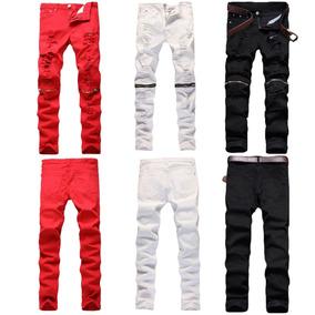 8534f13dc6 Pantalon Negro Roto Rodilla - Pantalones y Jeans para Hombre al ...