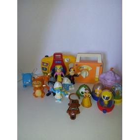Lote De Brinquedos Antigos Mc Donalds, Mini Games + Brindes