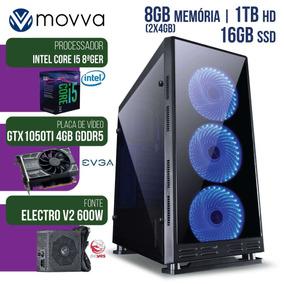 Computador Gamer Mvx5 Intel I5 8ª Ger. Mem. 8gb 1tb 16gb