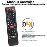 Controle Remoto Blu-ray Samsung Bd-e5500 C/netflix Paralelo