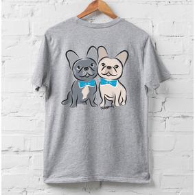 Bulldog Francês Cinza - Camisetas e Blusas no Mercado Livre Brasil 4ea37304a28f7