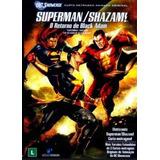 Superman/shazam! O Retorno De Black Adam. Dvd