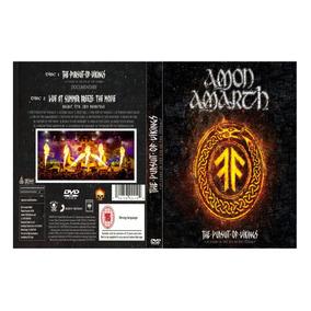 Amon Amarth -the Pursuit Of Vikings 2018 Duplo Leia!!!!!!