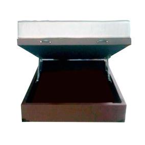 Cama Box Baú Casal Com Colchão Molas (dupla Face) Conjunto