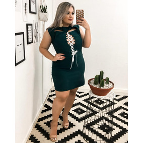 Kit 10 Vestidos E Macacao Plus Size Em Renda!!
