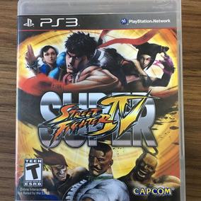 Jogo Super Street Fighter Iv - Ps3 - Mídia Física - Seminovo