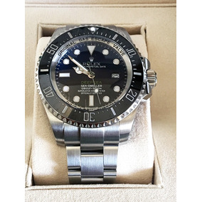 6f7ebf455cd Rolex Sea Dweller Aco Impecavel - Relógios De Pulso no Mercado Livre ...