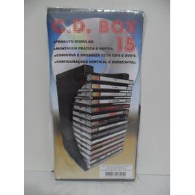 Porta Cd Modular - Organizador P/ 15 Cds - Cd Box 15