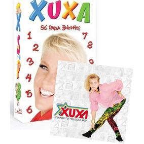 Xuxa Coleção Completa De Dvds E Cds Com 12 Dvds + 8 Cds