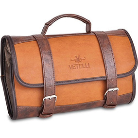 fe99cd227 Vetelli - Neceser Colgante Para Hombres - Kit Dopp / Travel