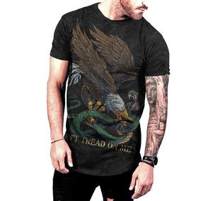 Camiseta Aguia Americana Manga Curta - Camisetas e Blusas no Mercado ... 5f9f16bf7d9db