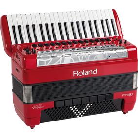 Acordeon/sanfona Roland Fr 8 X Rd Com Bag Original Fr-8x