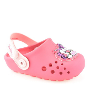 Sandália Glog Infantil Barbie Unicórnio Rainbow Baby 21711