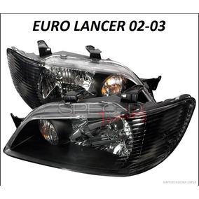 Focos Euros Mitsubishi Lancer 02 - 03, Jdm Oferta