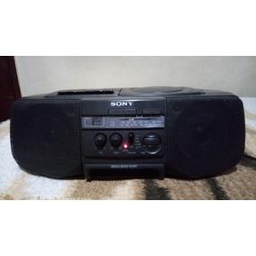 Radio Sony Portatil V10 Funcionando