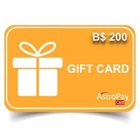 Cartao Astropay Gift Card 200brl.