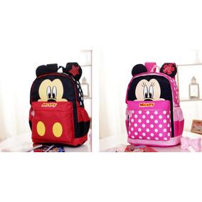 Mochila Mickey & Minnie Niño Niña Prescolar Cute Disney M1.1