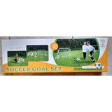 Mini Set De Futbol 2 Arcos O 1 Arco Red Pelota+inflador