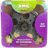 Kit Relação Trans Kmc C Rete- Honda Titan Fan 150 + Graxa
