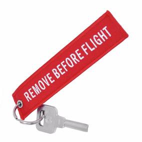 Chaveiro Remove Before Flight Aviação