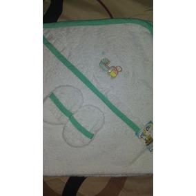 Paños Toallas Capuchones Para Bebes