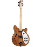 Guitarra Electrica Rickenbacker 360w Hollowbody Nat. Walnut