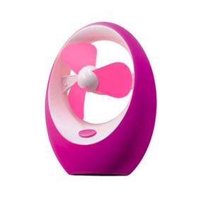 Ventilador Usb Mini Mesa Portatil Notebook Pc Mango Fan Rosa
