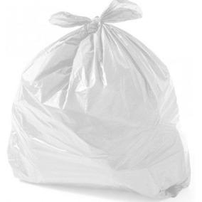 Saco Lixo Branco 15 Litros Infectante Clinica Hospital 500un