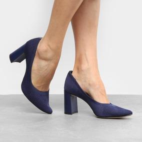 c9f38ef4f Scarpin Sapato Salto Bico Fino Tanara Salto Alto Feminino - Sapatos ...