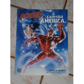 Demolidor E Capitao America - Album Gigante
