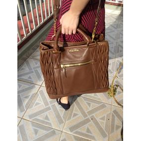 Bolsa Miu Miu Original - Calçados, Roupas e Bolsas no Mercado Livre ... bf4ae1f7fd