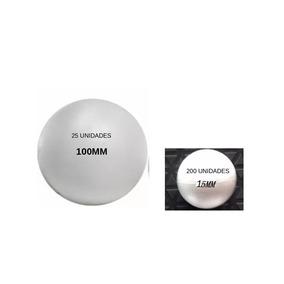 ... Pacote C 03 Bolas Styrocorte Paco. São Paulo · Bolas Isopor 15mm  (200un) E 100mm (25un) b5dc378c103fe