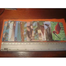 Lote Coleção De Cartões Com 60 Cartões Telefonicos