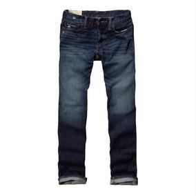 Calça Jeans Abercrombie Masculina - Tam 42 - 32x32 - P9