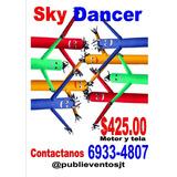 Muñecos Sky Dancer Publicitarios