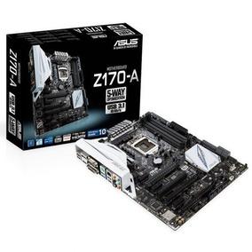Combo Asus Z170-a Procesador Intel Core I5 / I5-6600k 3.5ghz