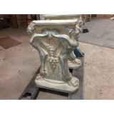 Pedestal Soporte De Hormigon Con Forma De Leon