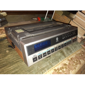 Antigo Rádio Relógio General Eletric Importado Decada 70
