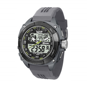 f82c56e7d07 Relógio Masculino Digital X Games Xgppd057– Cinza - Relógios De ...
