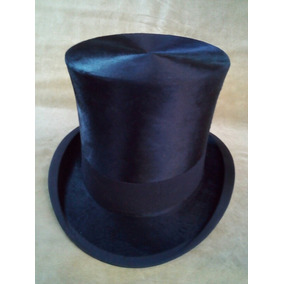Sombrero De Copa De Pelo. Inglés Original. 7c7bcffe710