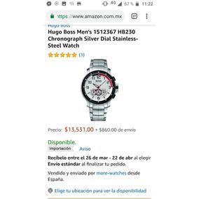 9e6c69f043b7 Wow Reloj Hugo Boss Edicion Especial Racing - Reloj de Pulsera en ...
