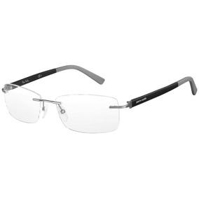 12348f9149c78 Armação Para Oculos Pierre Cardin Azul - Óculos no Mercado Livre Brasil